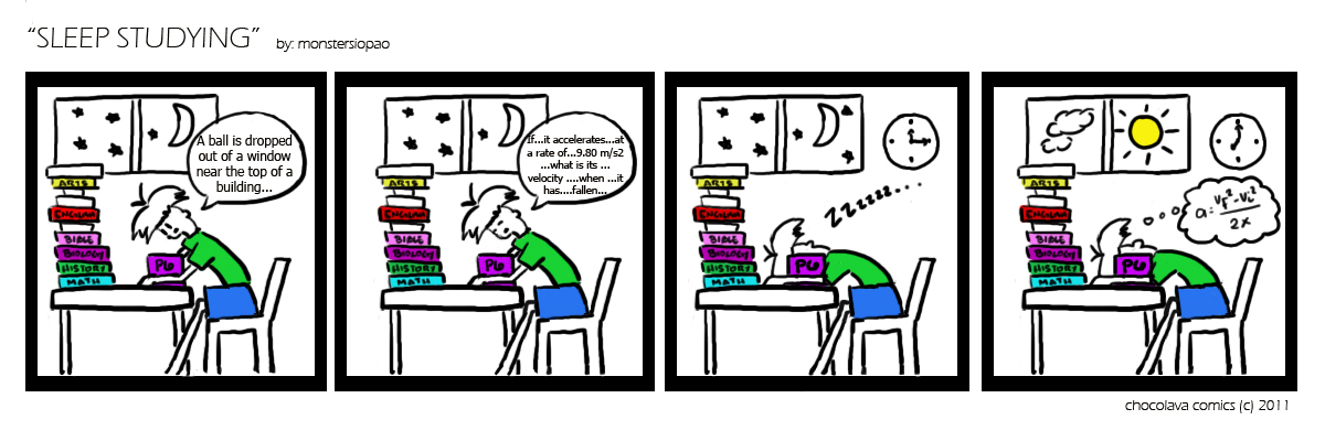 PFFT #15: Sleep Studying