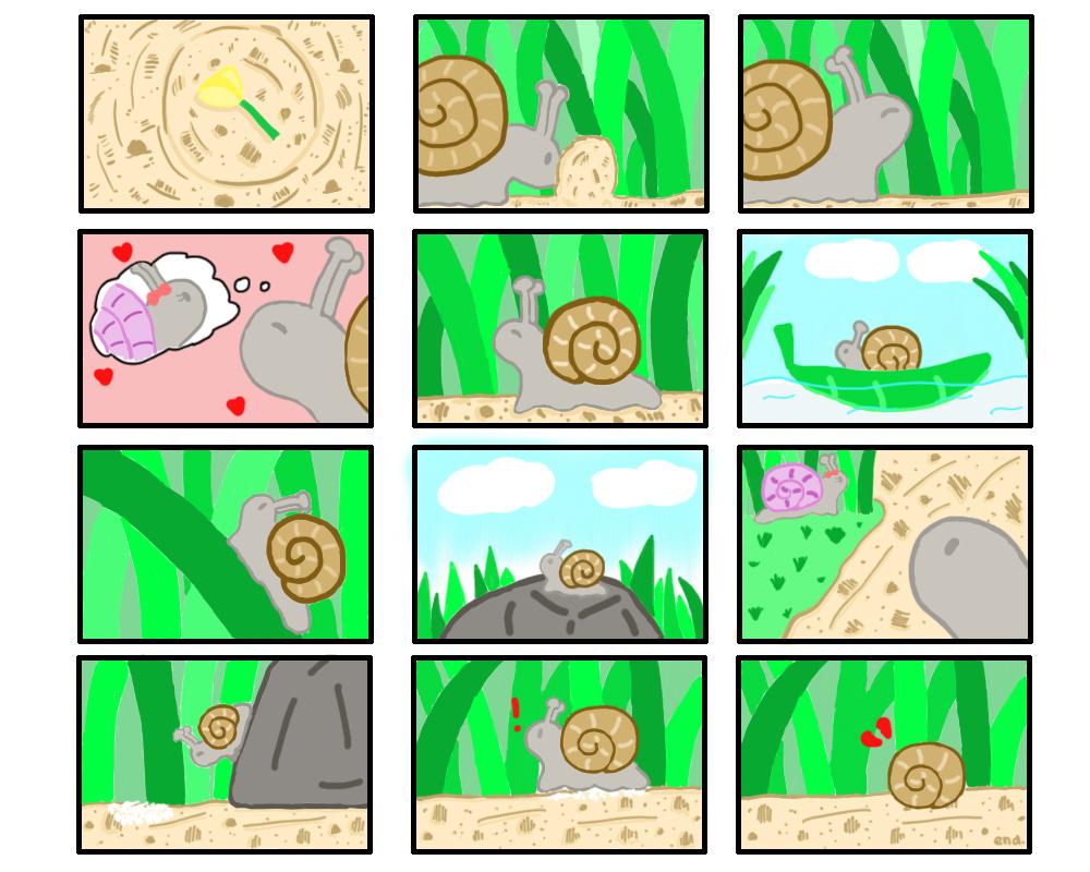 PFFT #53 Snail Love